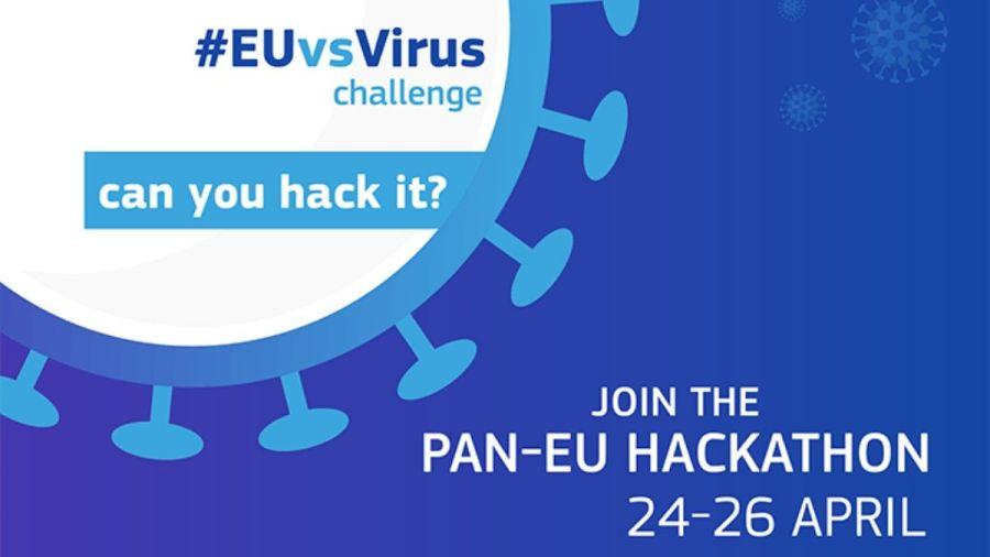 Hackaton organizado por la Unión Europea para luchar contra el coronavirus #EUvsVirus
