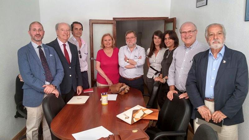 Reunion de la Junta Directiva de AFEX