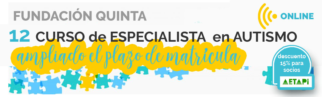 Curso de especialista en autismo Fundación Quinta