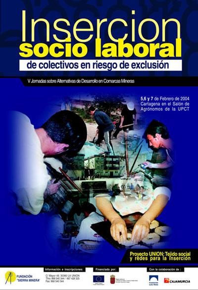 Jornadas – V Jornadas sobre la Inserción Socio Laboral de colectivos en riesgo de exclusión