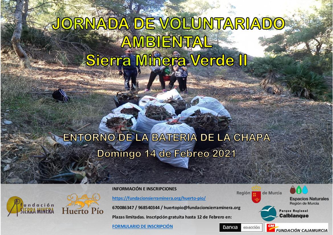 Jornada de Voluntariado Ambiental. Entorno Batería de La Chapa