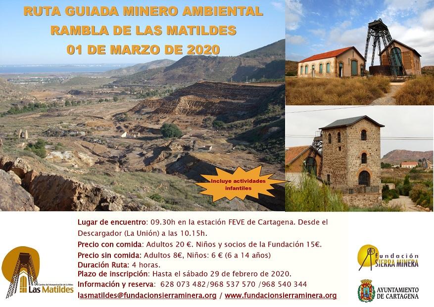 RUTA MINERO AMBIENTAL RAMBLA DE LAS MATILDES