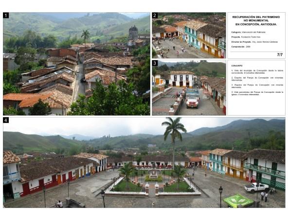 Recuperación del Centro Histórico - 120 intervenciones en patrimonio no-monumental