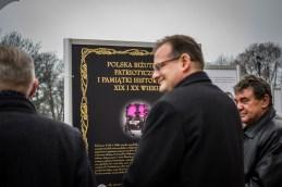 Otwarcie Wystawy 'Biżuteria patriotyczna i pamiątki historyczne XIX i XX wieku - Jasna Góra - 4 grudnia 2018 r. - fot. Andrzej Famielec IMGP2322