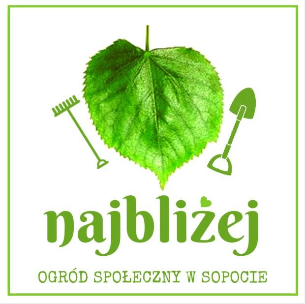 logo ogród społeczny najbliżej w sopocie fundacja my