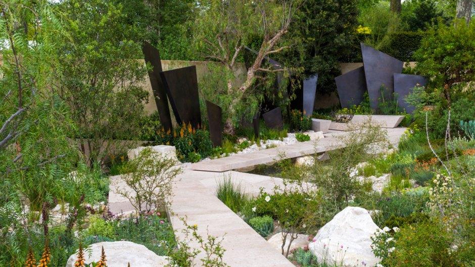 chcemy, by tak wyglądał nasz ogród społeczny - chelsea flower show londyn - telegraph garden
