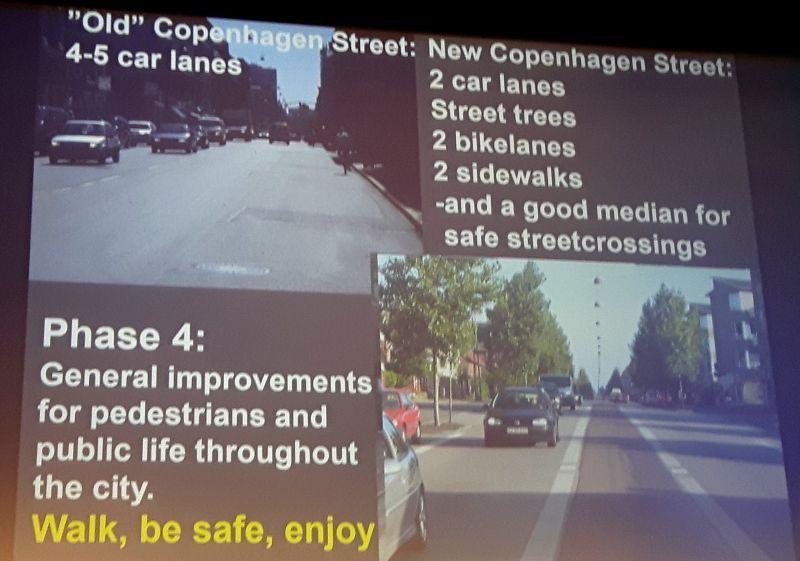Architektura Kopenhagi - mniej dróg, więcej ścieżek rowerowych i chodników