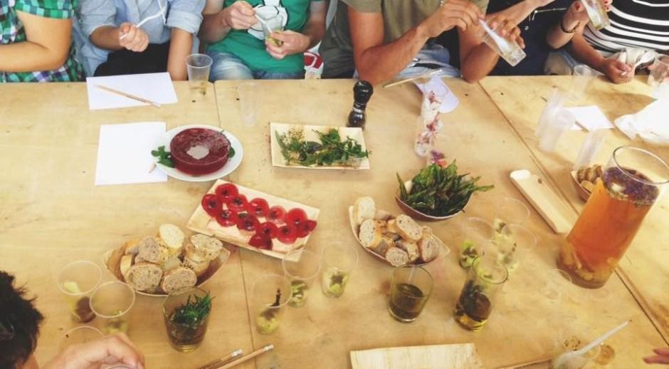 warsztaty kulinarne i piknik w ogrodzie społecznym