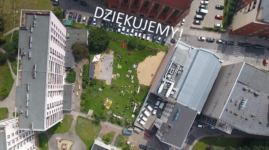 plac - ogród społeczny w szczecinie - efekt końcowy