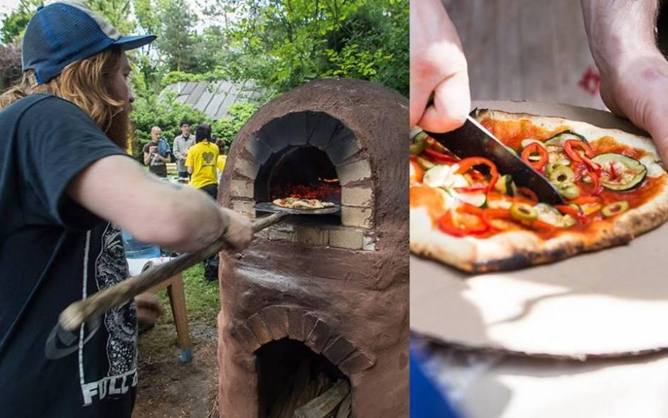 w Warszawie wiedzą jak piec pizzę w piecu ogrodowym