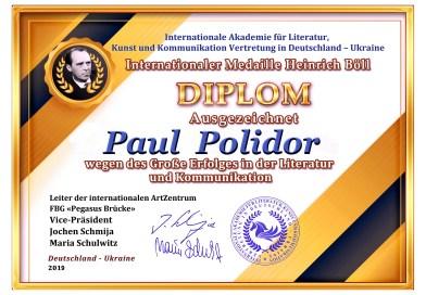 ",,Die Spur""& Winners of ,,Paul Polidor""Fest.: Cătălina Bordeanu in Poland, Italy, Germany, Belgium"