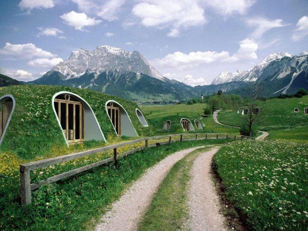 acoperis verde case prefabricate