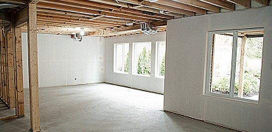 iluminare finished basement ideas