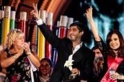 El presidente de Fundación GEP fue premiado por la Presidenta de la Nación Argentina Cristina Fernández por su trayectoria en el trabajo a favor de los DDHH