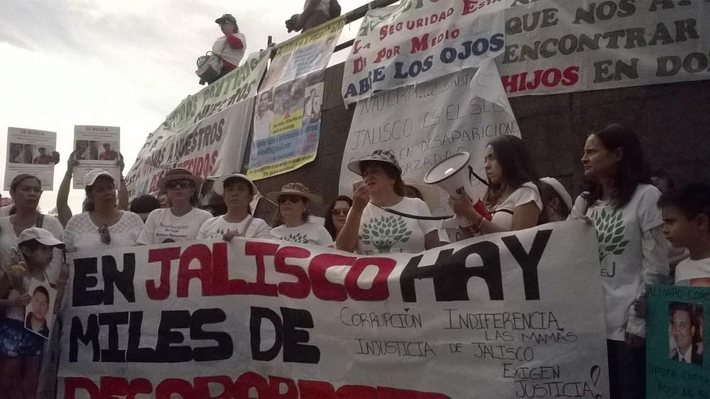 FAMILIAS DE DESAPARECIDOS DE JALISCO SE CONGREGARON PARA EXIGIR JUSTICIA (5/6)