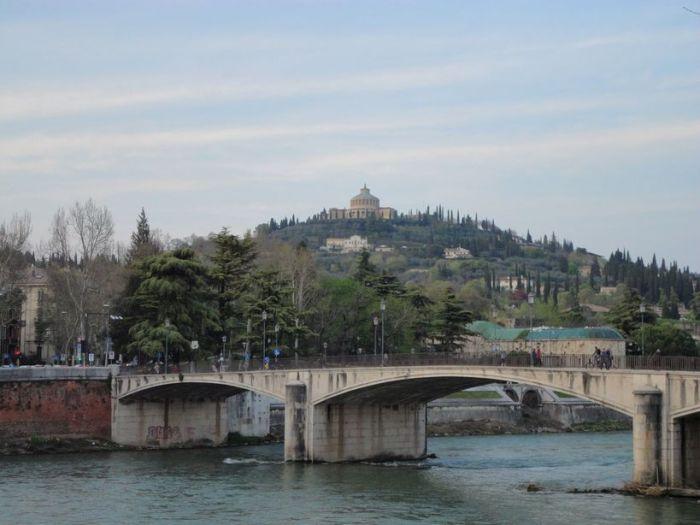 Along the River Adige. Verona, Italy