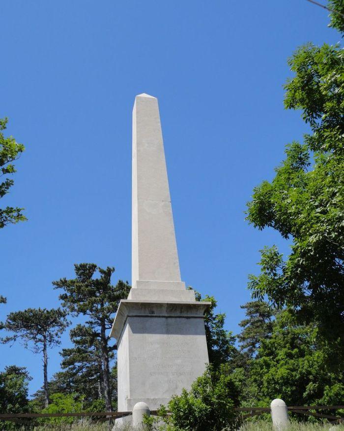 Obelisk. Trieste, Italy