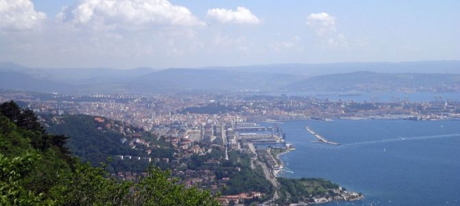 Scenic Walking Trails: The Strada Vicentina (Strada Napoleonica) at Trieste