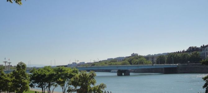[Lyon, France] Outdoors in Lyon: The Riverside and a Huge Park