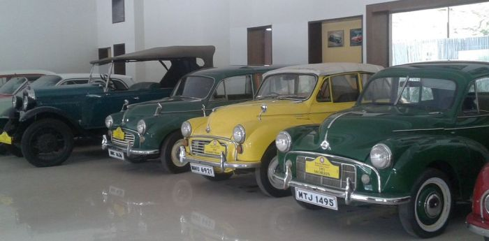 All in a row! Vintage and Classic Cars Museum, Pune, India
