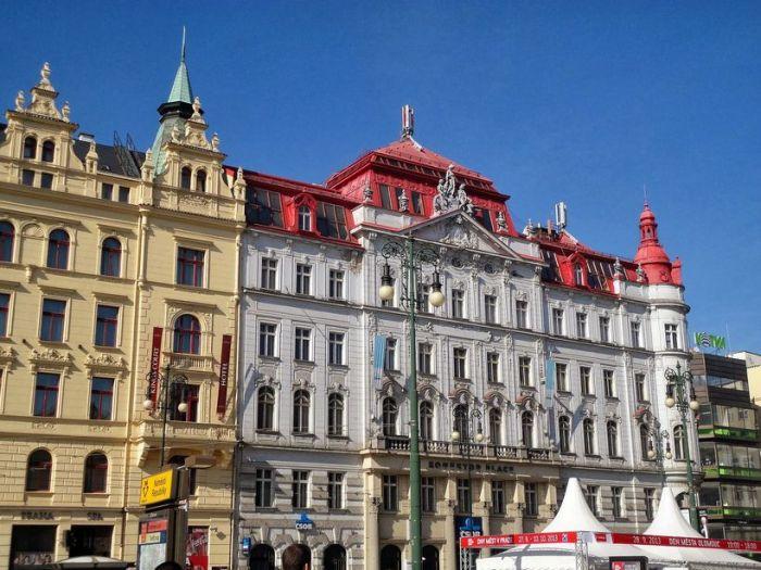 Splash of Colors. Old Town, Prague, Czech Republic.