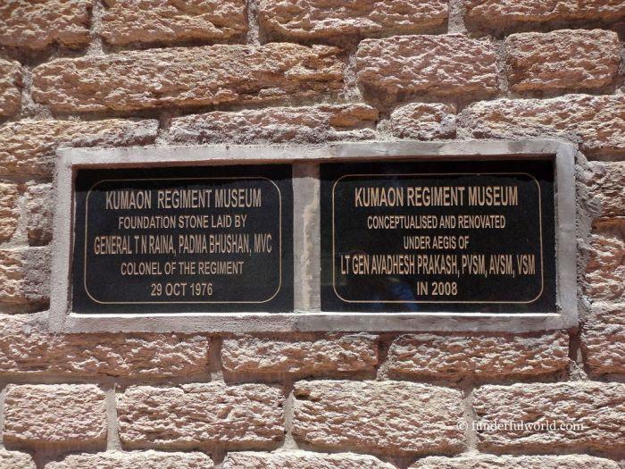Kumaon Regimental Centre Museum. Ranikhet, India.