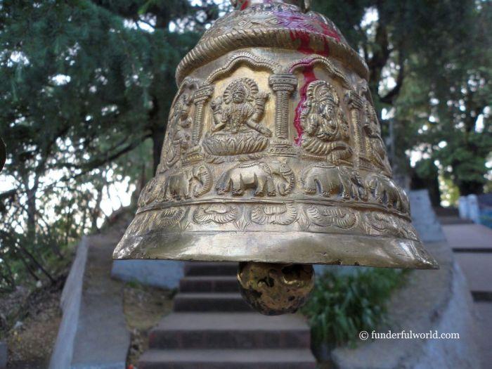 Announcing our arrival. At Mukteshwar Dham, Uttarakhand, India.