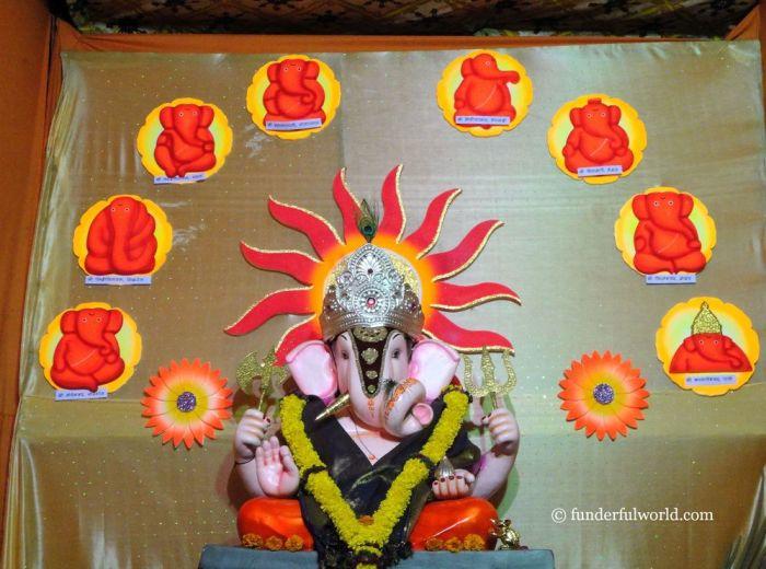 Ganpati Bappa Morya! Ganesh Chaturthi, Pune, India.