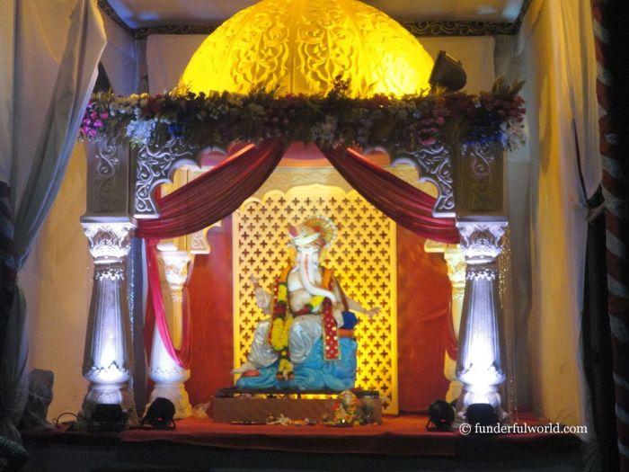 Our dear Ganpati Bappa. Pune, Maharashtra, India.