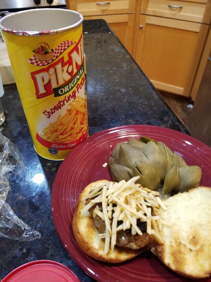 Cuban Frita Burger Recipe