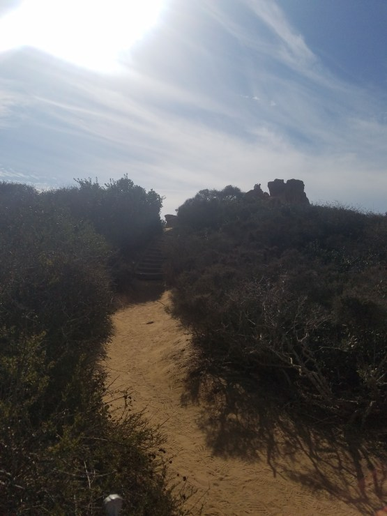 Red Butte, Razor Point Trail, and Yucca Point Trail