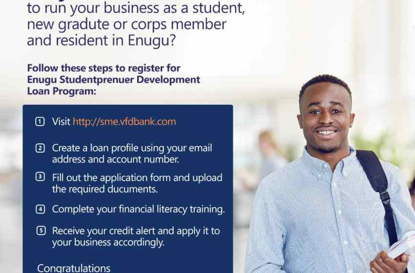 Enugu Studentpreneur Development Loan Program