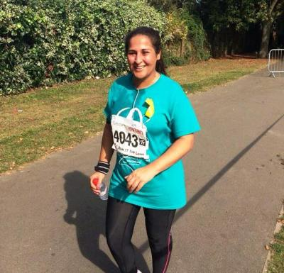 Shazia, Running for Palestine