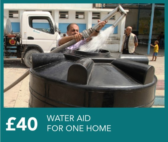 £40 Water Aid for a family