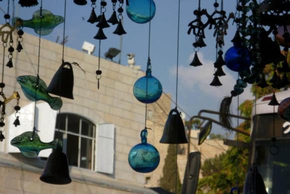 The Last Palestinian Shop on Shuhada Street, Overlooking the Ibhrahimi Mosque - Hebron 2009