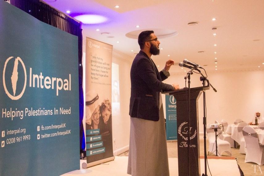 We had some inspiring talks by Asim Khan, Uthman Lateef and Ibrahim Hewitt.