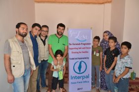 Home rehabilitation in Gaza