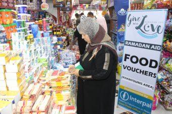 Food Vouchers in Gaza