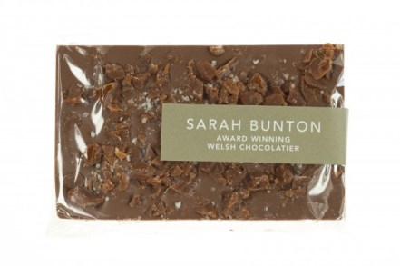 Salted Caramel Bar, part of Mubarak London's luxury hampers