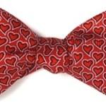 Free Valentine's Day Bow Tie Card