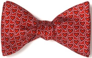 Image of The Fundraising Coach's Valentines Day bow tie