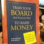 Training Your Board to Raise Money - a book for your new year