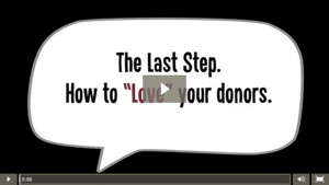 7- Love: The secret to sustainable fundraising