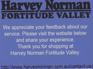 Harvey Norman 1