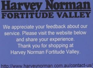 Harvey Norman 1