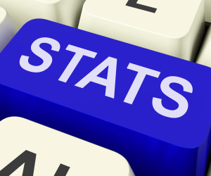 Stats Key Showing Statistics Report Or Analysis