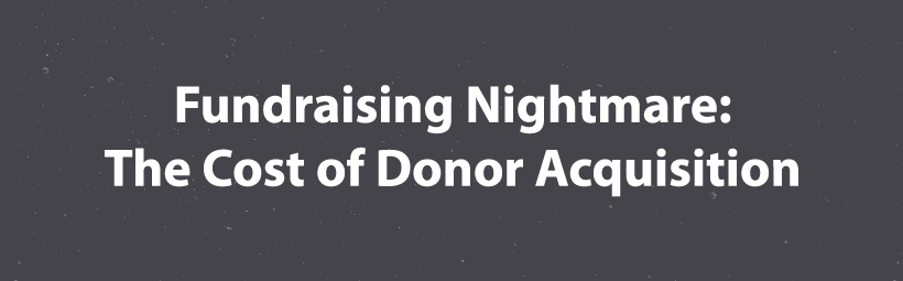 donor acquisition cost