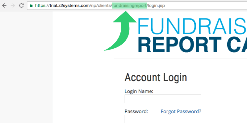 Your organization ID can be found on your NeonCRM login page!