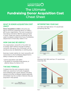 The Ultimate Fundraising Metrics Cheat Sheet