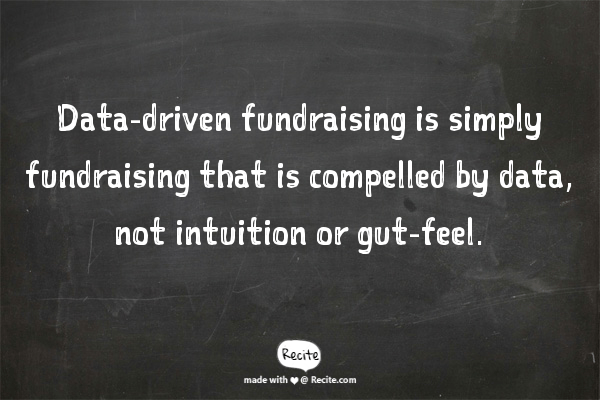 data-driven fundraising definition